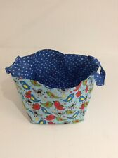 Handmade Fabric Storage Cube WAS £10 NOW ONLY £5