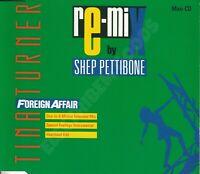 TINA TURNER FOREIGN AFFAIR RE-MIX MAXI CD GERMAN 1990 EMI CDP 560-203903 2 RARE