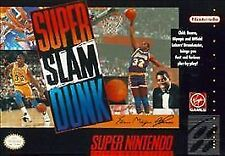 Super Slam Dunk (Super Nintendo Entertainment System, 1993) Game Only