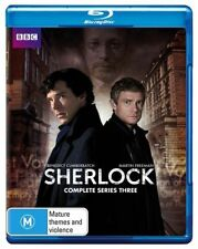 Sherlock : Series 3 (Blu-ray, 2014, 2-Disc Set)