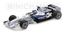 Sauber Bmw C24B Alessandro Zanardi Valencia 2006 MINICHAMPS 1:18 100060904