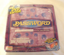 Password Board Game DVD Edition Ages 8+ Endless Games 2006 NIP NEW