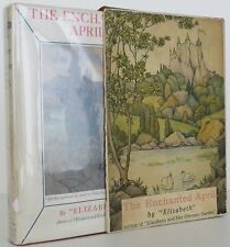 ELIZABETH The Enchanted April FIRST EDITION