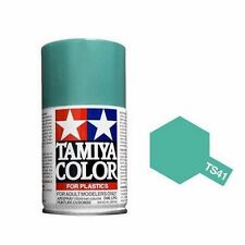 Tamiya TS-41 CORAL BLUE Spray Paint Can 3 oz 100ml 85041 Mid-America Naperville