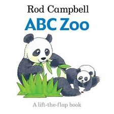 ABC Zoo by Rod Campbell, Lift The Flap Book, Paperback - NEW