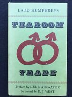 Tearoom Trade by Laud Humphris 1st Edition In dust wrapper 1970