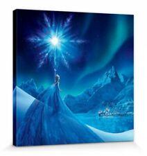 Die Eiskönigin -Elsa Eisstern Disney Poster Leinwand-Druck Bild (30x30cm) #81397