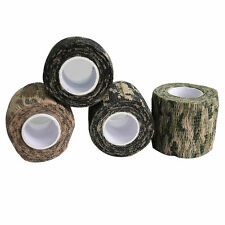 Self-adhesive Non-woven Camouflage WRAP RIFLE GUN Hunting Camo Stealth Tape9Y2