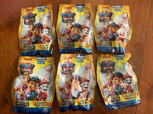 Paw Patrol The Movie Micro Movers Blind Bags Figures Series 1 (Lot Of 6)     NEW