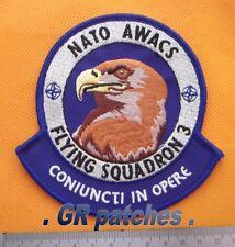 NATO Awacs F.S. 3 Luftwaffe Armee Militärisch Menge Stoff Flicken
