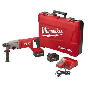 MILWAUKEE 2713-22 18-Volt Cordless 1 SDS+ D-Handle Rotary Hammer Kit 2 Battery