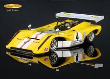 Lola T222 Chevrolet Interserie Norisring 1971 Jo Bonnier Spark 1/43 Raceland