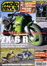 MOTO REVUE 3409 VOXAN Roadster DUCATI 900 Monster KAWASAKI ZX-6 R BMW R1100 F650
