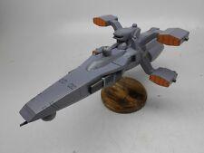 Drake Class Gundam SEED Escort Ship Mahogany Kiln Wood Model Small New