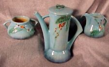 Roseville Blue WINCRAFT Coffee Set Pot Creamer Sugar