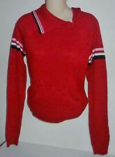 Womens TILT Red Lightweight Turtleneck Sweater size M NWT #4050