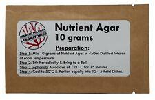 Nutrient Agar 10 Grams Free Shipping