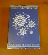 New listing More Lives Than One, Autobiography of Claude Bragdon, 1938 First Edition Dj