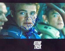 CHRIS PINE Autographed Signed 8x10 STAR TREK Photo JAMES KIRK  Jack Ryan