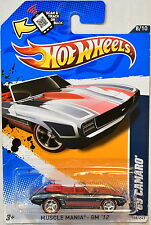 HOT WHEELS  2012 SUPER - SECRET TREASURE HUNT '69 CAMARO REAL RIDERS