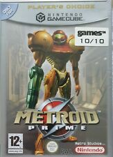 Nintendo Gamecube Metroid Prime PAL boxed with instruction manual