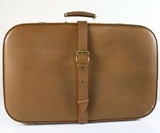 Alter Reise Koffer Leder 60x39x16 sehr gepflegt Vintage Suitcase 50er Jahre