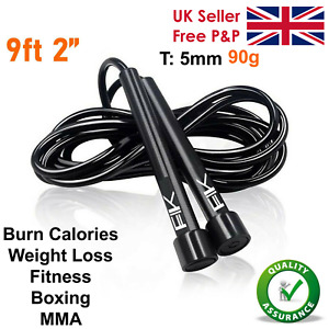 Skipping Rope Jump Speed Exercise Boxing Gym Fitness Workout Adult Kids Crossfit