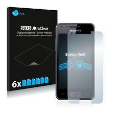 6x Displayschutzfolie für Samsung GT-I9070 Schutzfolie Klar Folie Displayfolie
