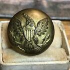 Civil War Union enlisted ranks military uniform coat button 11/16 for sale