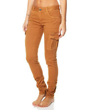BNWT BILLABONG LADIES PATRIATE SKINNY CARGO JEANS (RUSTIC) LAST PAIR (6) $90