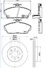 For Honda Civic IV V VI VII Hatchback Saloon FRONT 2 SOLID BRAKE DISCS AND PADS