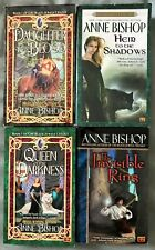 Lot of 4 * Black Jewels Trilogy + The Invisible Ring * Anne Bishop * PB