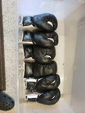 00000D0C Black 16oz Boxing Gloves Three Pairs