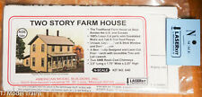 American Model Builders #640 Two Story Farm House w/Front Forch (Laser Cut)