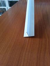 PROFILI IN PVC BIANCO A T MM 25X18X1 DA MT. 2