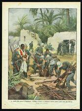 1911 Italian Soldiers Confiscating Hidden Riffles in Libya, Italy & Turkey War