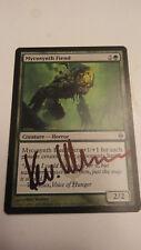 Mycosynth Fiend ARTIST PROOF Signed by Kev Walker MTG