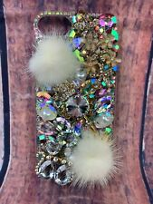 iPhone 8 Crystal Diamond Fur Case iPhone 8 Luxury Fox Head