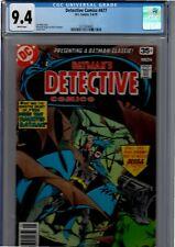 Detective Comics #477 cgc 9.4