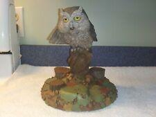 Tom Clark Hoo Goes There Gnome Owl Figurine