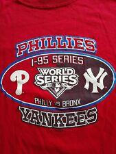 Phillies vs Bronx 2009 World Series T-Shirt Vintage Unisex Small Great graphics
