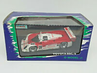 Q-MODEL STREAMLINE 1:43 - TOYOTA 89C-V Nº 38 1989 JSPC