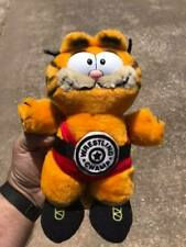 "Vintage 1981 Garfield ""Wrestling Champ"" Plush Animal Toy"