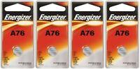 4 NEW LR44 ENERGIZER A76 L1154 AG13 357 SR44 303 BATTERIES