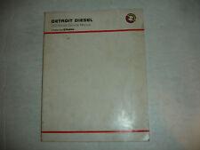 Detroit Diesel Engine Perkins 4.135 4.154 4.182 Series Service Shop Manual OEM