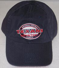 NFL Houston Texans Blue Relaxed Fit One Size Fits All Adjustable Hat By Reebok