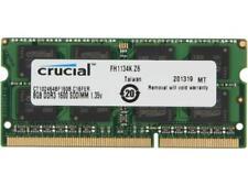 Crucial 8GB 204-Pin DDR3 SO-DIMM DDR3L 1600 (PC3L 12800) Laptop Memory