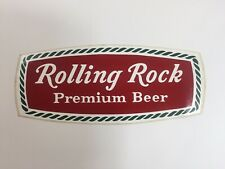 Vintage Rolling Rock Beer Advertising Sticker