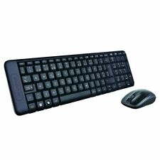 Logitech MK220 Combinación de Teclado y Ratón Inalámbricos - Negros