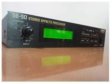 Boss Pro SE-50 Stereo Effects Processor SE50 Vintage Unit With Tracking F/S (2)